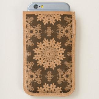 Flower mandala, Black-eyed Susans iPhone 6/6S Case