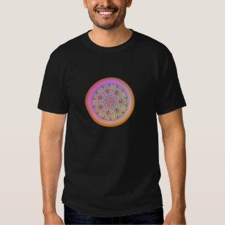 Flower Mandala - Black T-Shirt