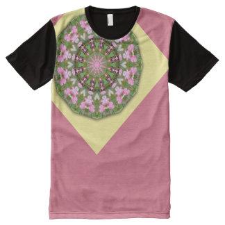 Flower Mandala, Bleeding heart 02.4 All-Over-Print T-Shirt