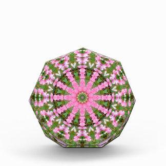 Flower Mandala, Bleeding heart Acrylic Award