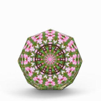 Flower Mandala, Bleeding heart, pink Award