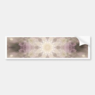 Flower mandala bumper sticker