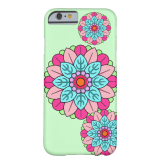 Flower Mandala Barely There iPhone 6 Case
