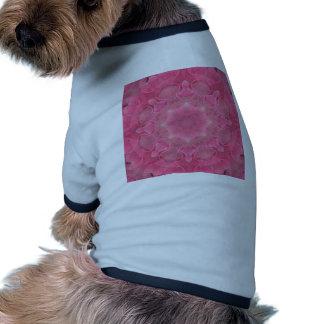Flower mandala dog shirt