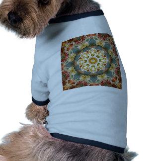 flower mandala pet t shirt
