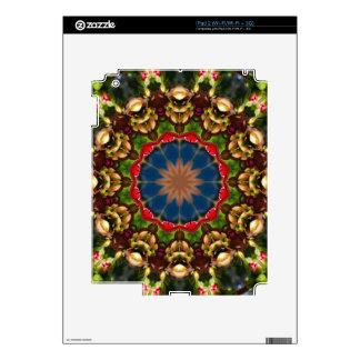 Flower Mandala, Festive Flowers iPad 2 Skins