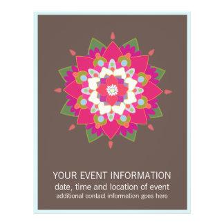 Flower Mandala  Flyer