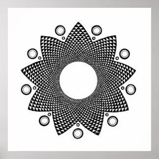 Flower Mandala III Poster