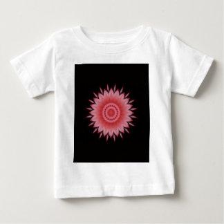 Flower Mandala in Pink Baby T-Shirt
