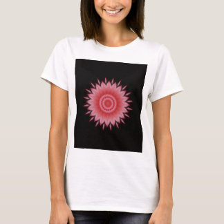 Flower Mandala in Pink T-Shirt