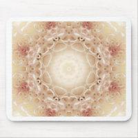 Flower mandala mouse pad