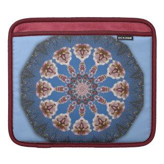 Flower-Mandala, spring blossoms Sleeve For iPads
