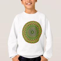 Flower-Mandala, Wildflower Sweatshirt