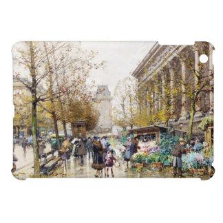 Flower Market at the Madeleine, Paris iPad Mini Cover