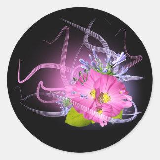 Flower max light Untitled Sticker
