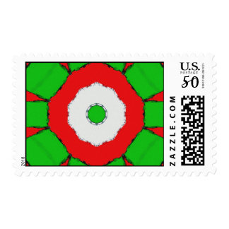 Flower Me Christmas Postage