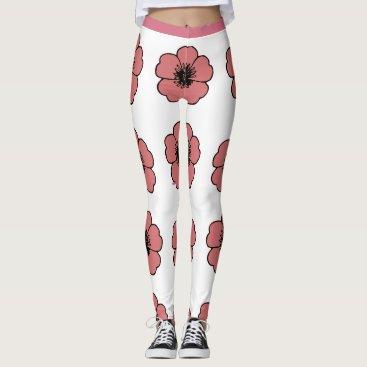 Professional Business Flower-Me-Peach-Floral_LEGGING'S_XS-XL Leggings