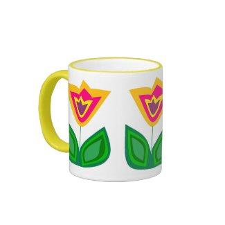 Flower Me World zazzle_mug