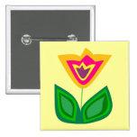Flower Me World Pins