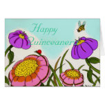 "Flower Meadow ""Happy Quinceanera"" Card"