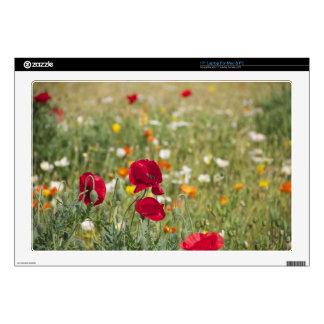 "Flower Meadow Skins For 17"" Laptops"