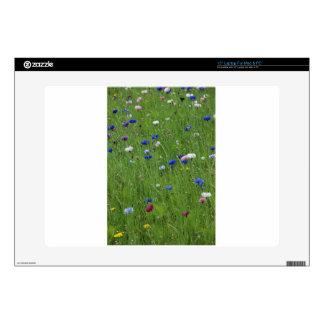 flower meadow skin for laptop