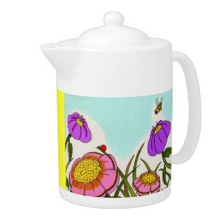 Flower Meadow Teapot