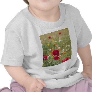 Flower Meadow Tee Shirts