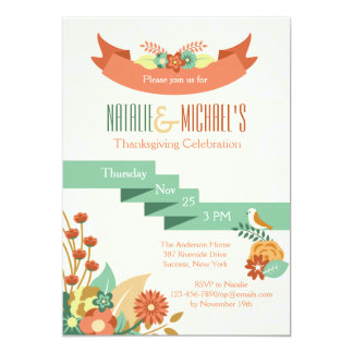 Flower Medley Invitation