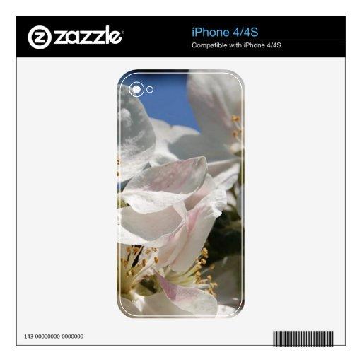 Flower mf 108 iPhone 4 decals
