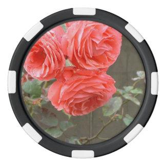 Flower mf 198 poker chip set