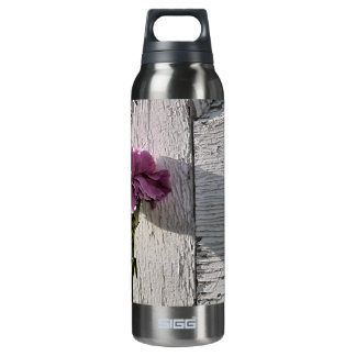 Flower mf 198 16 oz insulated SIGG thermos water bottle