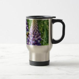 Flower mf 611 15 oz stainless steel travel mug
