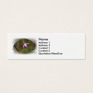Flower Mini Business Card