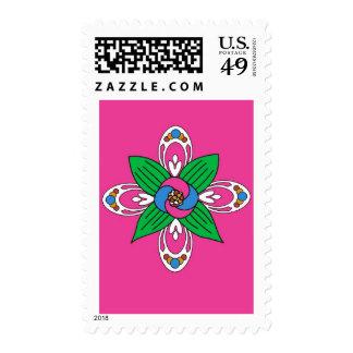 Flower Motif Stamps