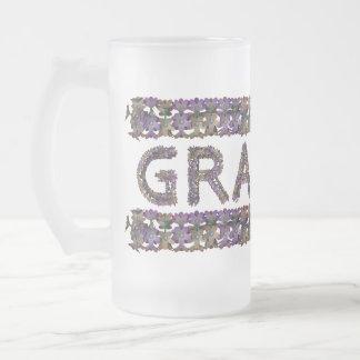 Flower mug Grandpa
