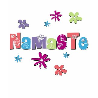 Flower Namaste Yoga Gear shirt