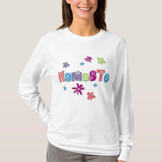 Flower Namaste Yoga Shirt