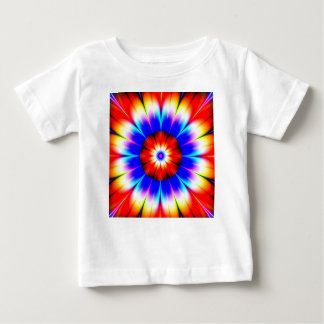 flower obstruct color baby T-Shirt
