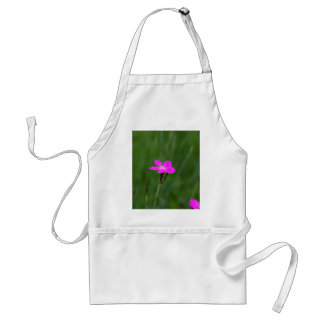 Flower of a maiden pink adult apron