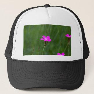Flower of a maiden pink trucker hat