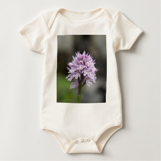 Flower of a three-toothed orchid Neotinea trident Baby Bodysuit