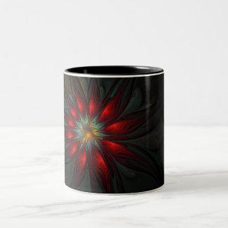 Flower of Christmas Two-Tone Coffee Mug