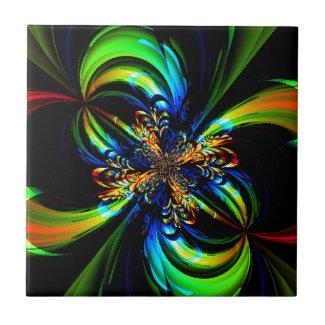 Flower of Color Tiles