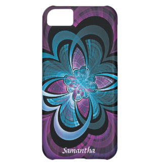 Flower of Hearts Fractal Case For iPhone 5C