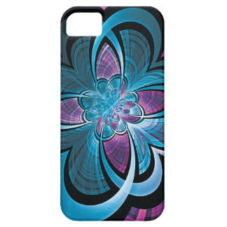 Flower of Hearts Fractal iPhone 5 Cases