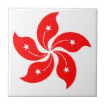 Flower of Hong Kong Tile