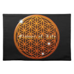 flower of life4 place mat