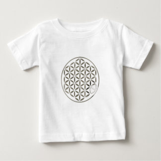 Flower OF Life 1 - Silver stamp Infant T-shirt