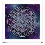 FLOWER OF LIFE - Archangel Metatron Cube Room Stickers